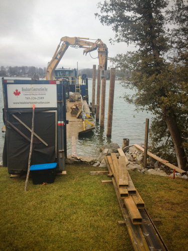Permanent Dock Solutions Headstart Construction Orillia, Barrie, Simcoe, Muskoka