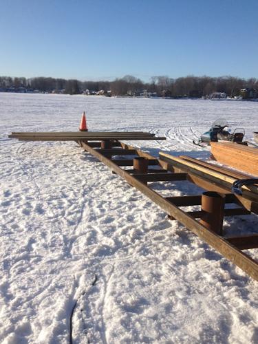 Wood and Steel Permanent Dock Systems Orillia, Barrie, Simcoe, Muskoka