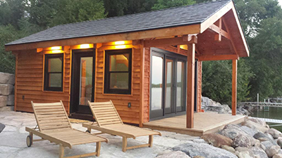 Boathouse and Cottage Construction Renovations Design