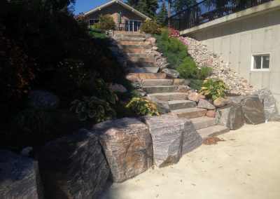 Hardscapes, Staircase Reviving