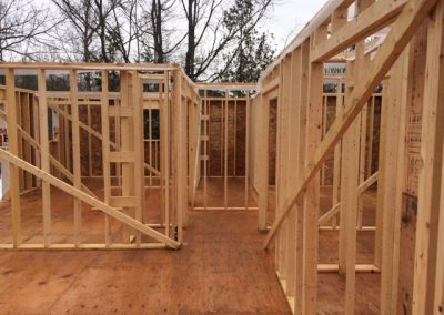 Framing Custom Home Build