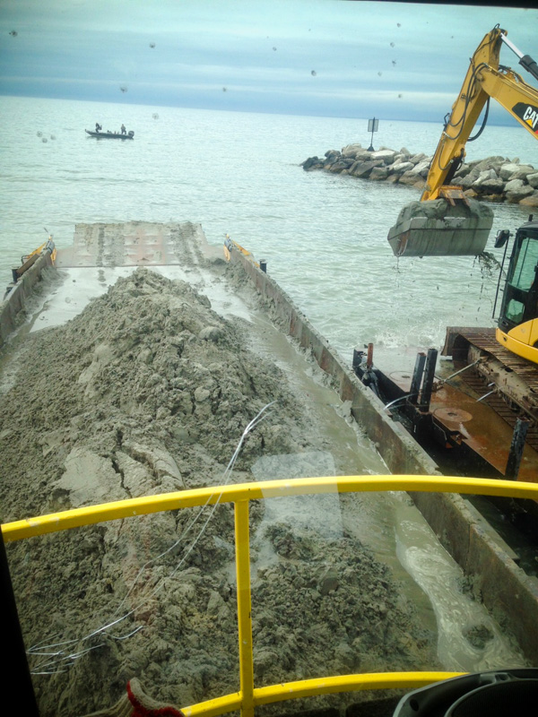 Commercial Marina Excavating Services